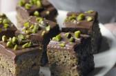 Čokoladne kocke s pistacijima