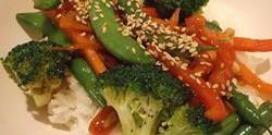 Mješavina povrća sa đumbirom