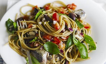 Špagete u sosu od sardina