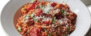 Rižoto od paradajza i parmezana