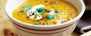 Začinjena supa od mrkve i leće
