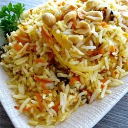 Prilog od riže i povrća